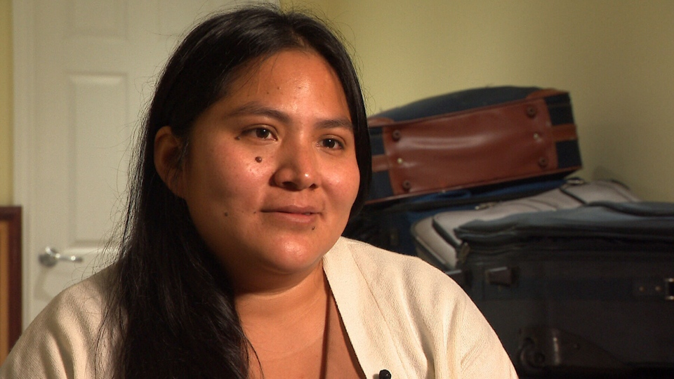 Sandra Morales is fearful for her family as they face deportation from Canada in January. The have been in the country since April 2017. (CTV)