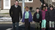 Third graders write to city about crosswalk safety
