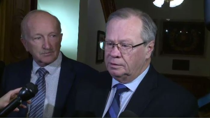 """""""For the short term, we have to redeploy patients to Bathurst or to Saint-Quentin, to make sure there's continuity of healthcare,"""" said New Brunswick Health Minister Ted Flemming."""