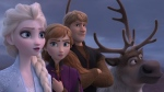 The characters Elsa and Anna in a scene from 'Frozen 2.' (Disney via AP)