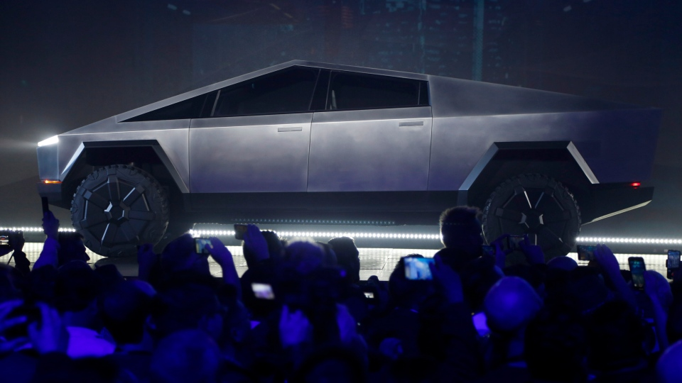 The Tesla Cybertruck is unveiled