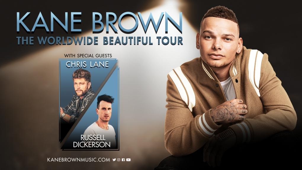 kane brown tour