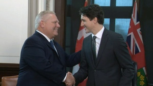PM Trudeau and Premier Ford meet in Ottawa