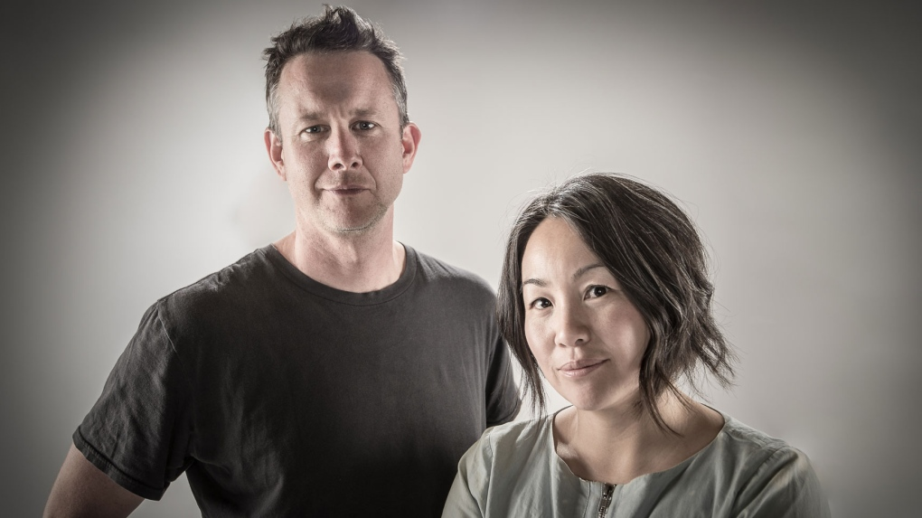 Maiko Yamamoto and James Long
