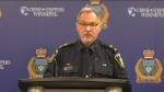 Winnipeg police update on shooting of suspect