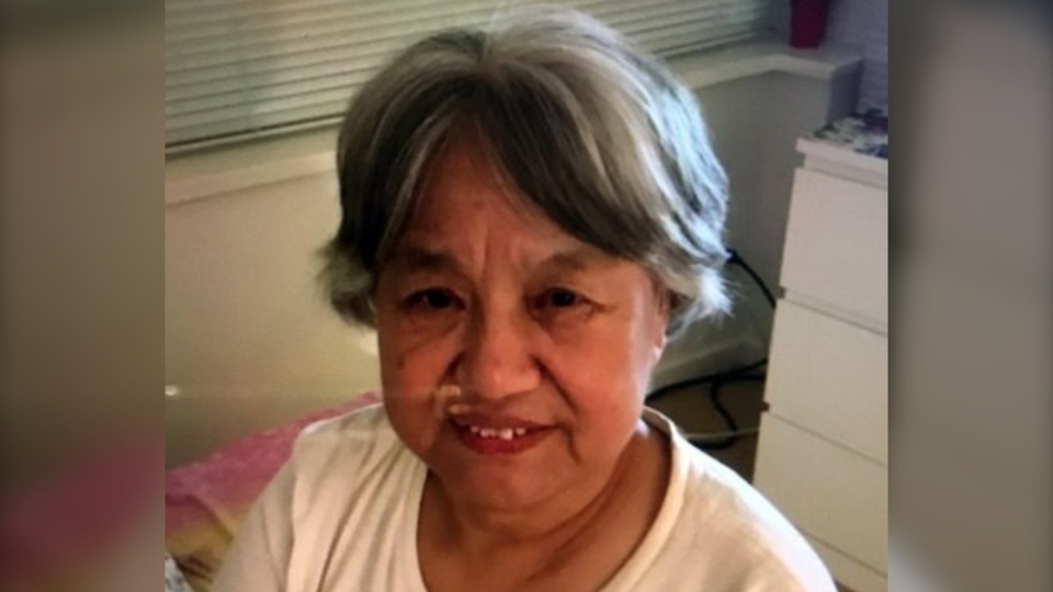 Feng Qin Zhou, 75, was last seen on Firbridge Way near Minoru Boulevard Wednesday afternoon.