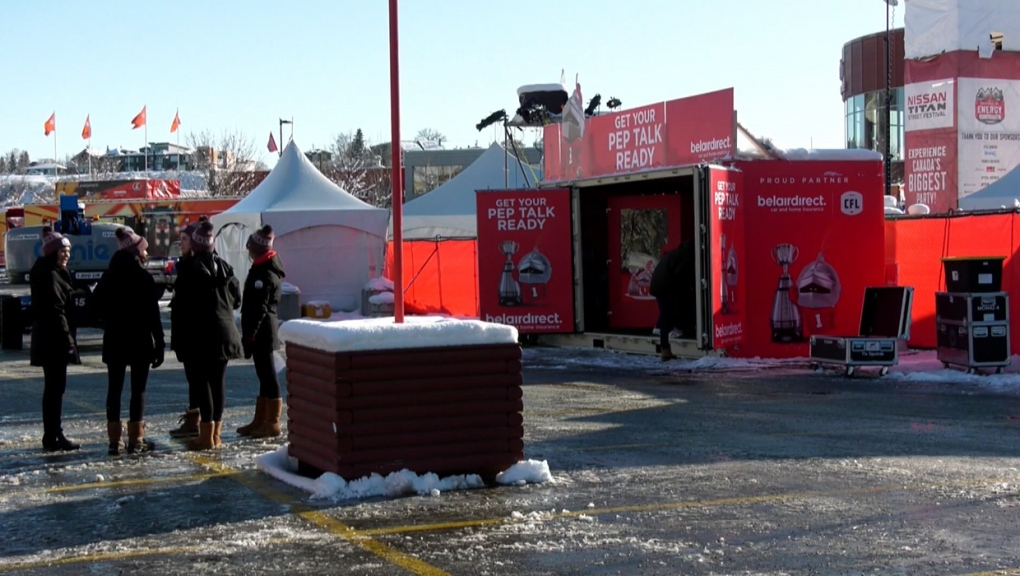 Grey Cup, Stampede Park, fan festival