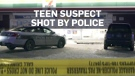 Teen suspect shot by police at a Winnipeg 7-Eleven