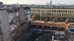 The historic Plaza Hotel building dramatically burnt to the ground on May 6: Nov. 22, 2019 (CTV News)