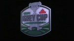 The Saskatchewan Roughriders have revealed the logo for the 108th Grey Cup, to be played at Mosaic Stadium in 2020. (Source: Saskatchewan Roughriders)