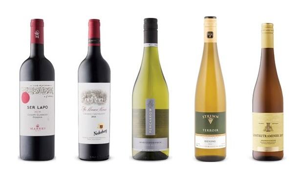 Natalie MacLean's Wines of the Week  Nov. 18, 2019
