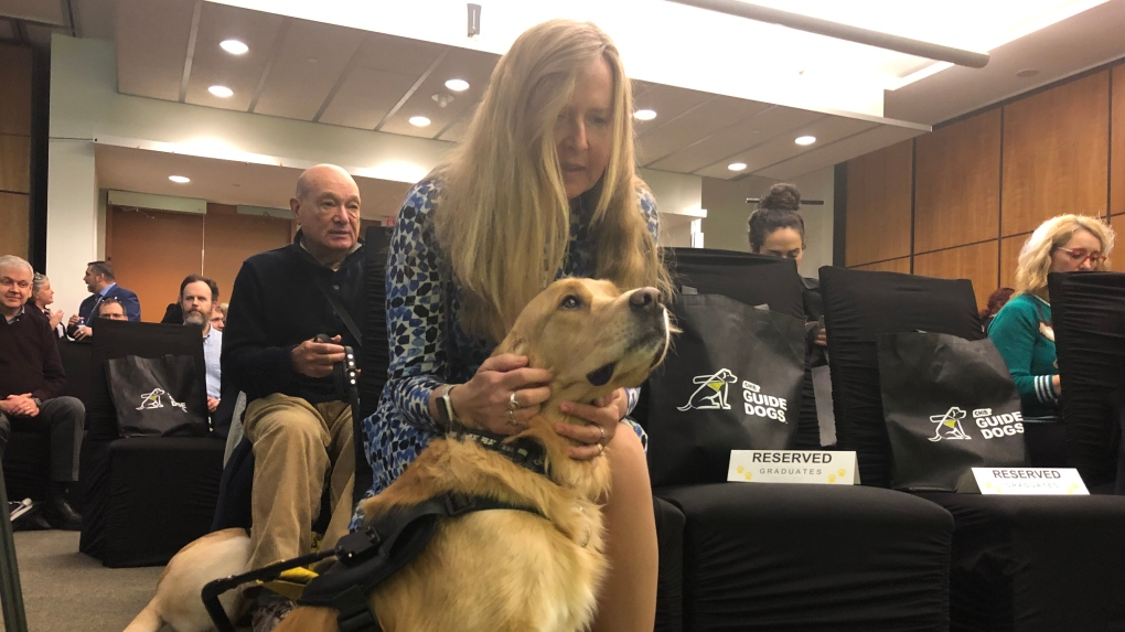 Guide dogs graduate from special program and will now help visually impaired