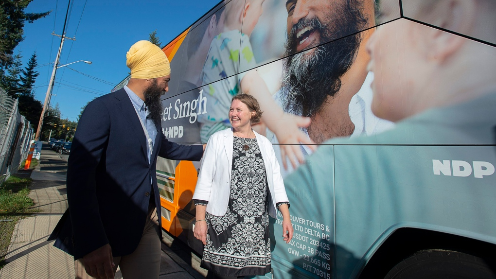 Jagmeet Singh chooses two B.C. MPs for key roles