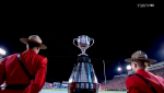 Winnipeg won the 107th Grey Cup Sunday, while Calgary won an economic boost hosting the event