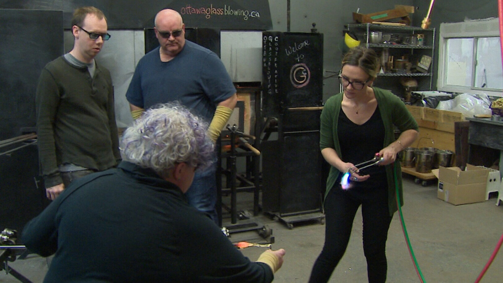 Glassblower breathes new life into her craft thanks to Ottawa co-operative
