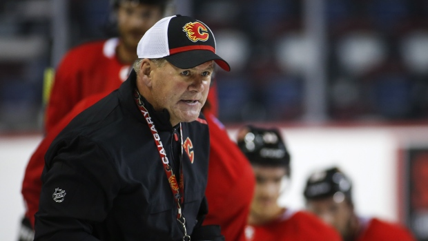 National Hockey League investigating allegations of racial slur from Flames head coach