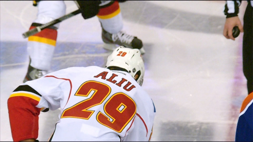 Akim Aliu Calgary Flames