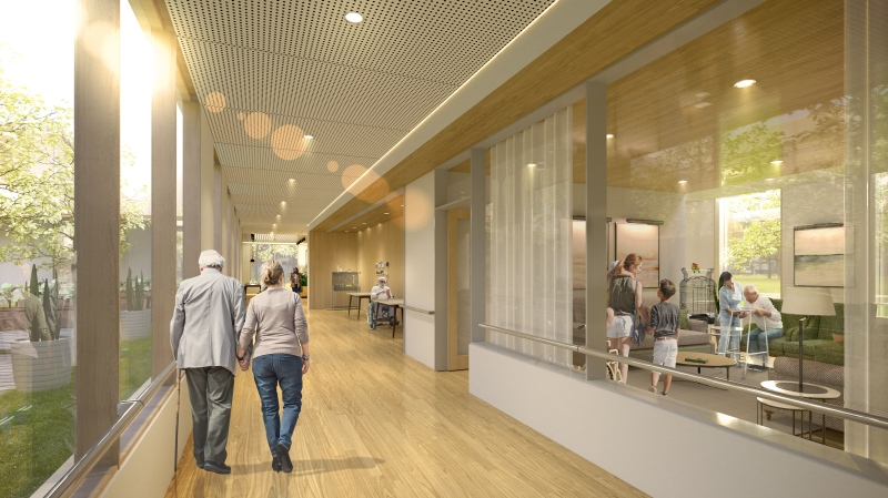 Quebec is set to see new and improved long-term care homes (image: Health and Social Services Quebec)