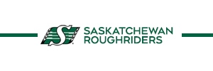 Saskatchewan Riders Banner - updated November 2019