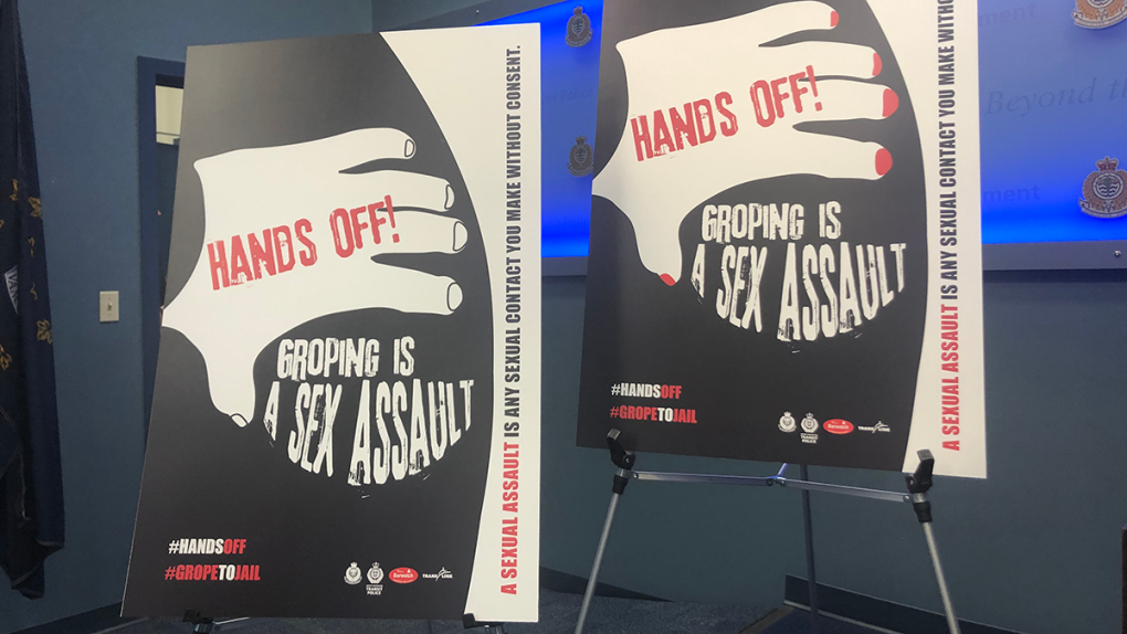 'Hands off' campaign targets unwanted touching on transit, in nightclubs
