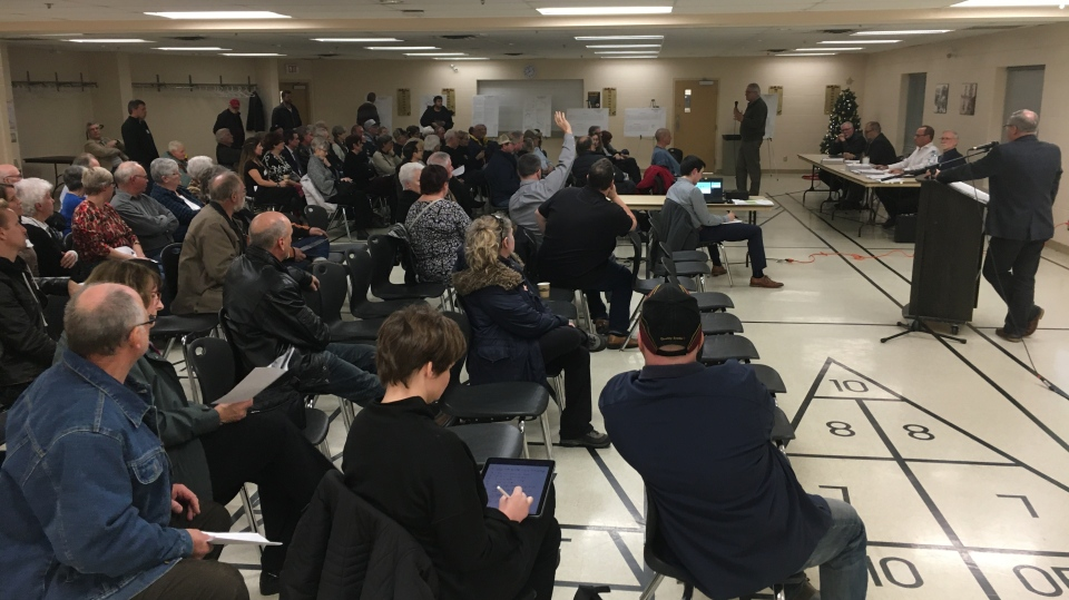 Wilmot residents get chance to hear proposed grave
