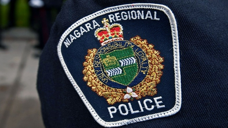 A Niagara Regional Police officer is seen in an undated file photo. (The Canadian Press/Francis Vachon)