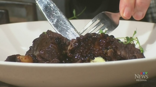 Watch: Chef Chris Maitland and CJ Katz make red wi
