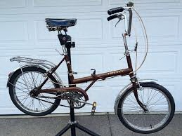Raleigh collapsible bicycle