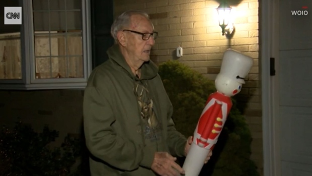 Leonard Miller was at home in Perry Township when his 13-year-old neighbor came to his front door frantically asking for his help. (WJW)