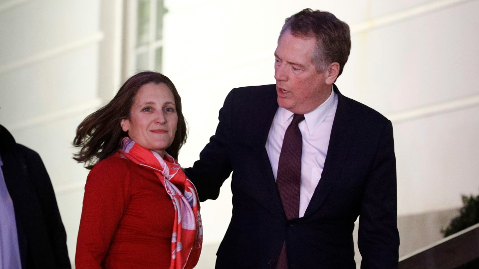 Freeland, Lighthizer