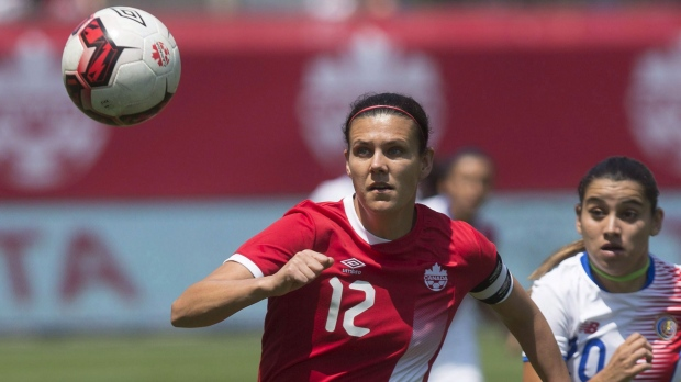 Canada's Christine Sinclair thinking about playing soccer beyond 2020 Olympics