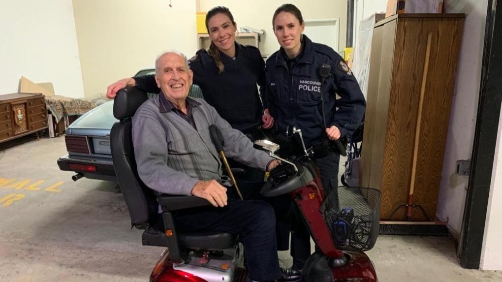 Stolen scooter