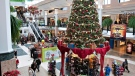 People shop for Christmas presents at the Laurier Quebec shopping centre Thursday, December 22, 2011 in Quebec City. THE CANADIAN PRESS/Jacques Boissinot