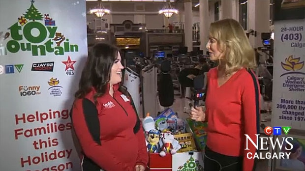 CTV Calgary's Toy Mountain Campaign is in its second week. Funds raised help the Calgary Women's Emergency Shelter