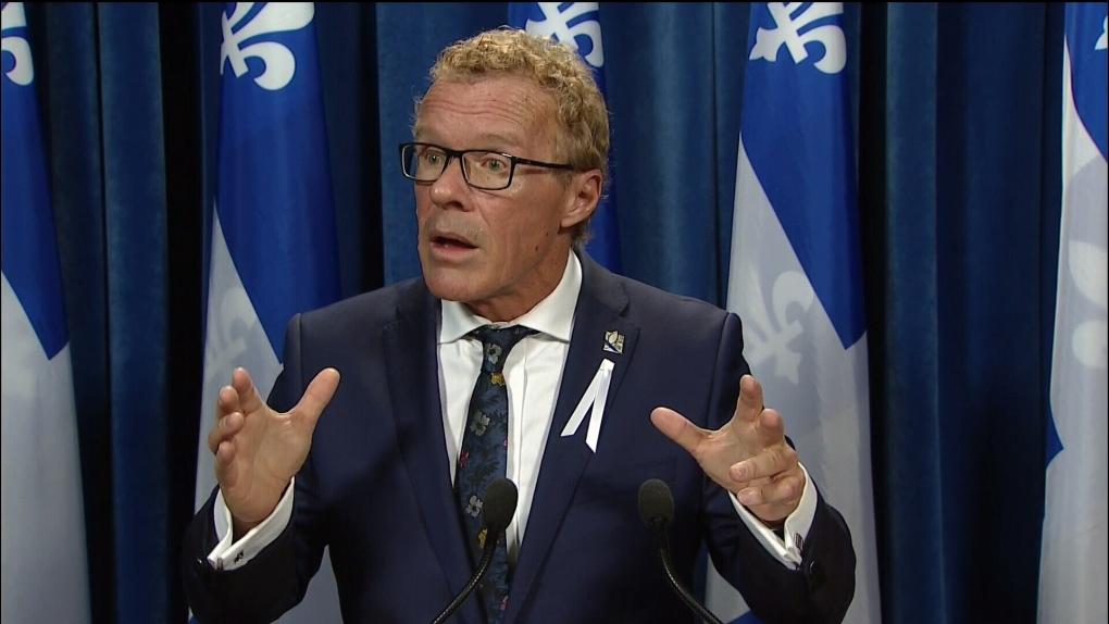 Labour Minister Jean Boulet