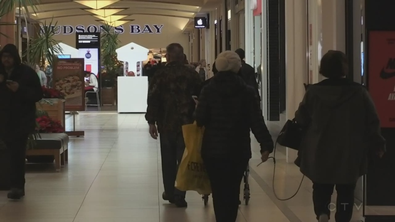 Slow start for Black Friday shoppers in Waterloo | CTV News