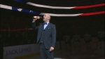 Robert Clark, the Edmonton Oilers' anthem singer, is promising an anthem serenade to those who donate $75 or more to his Movember campaign.