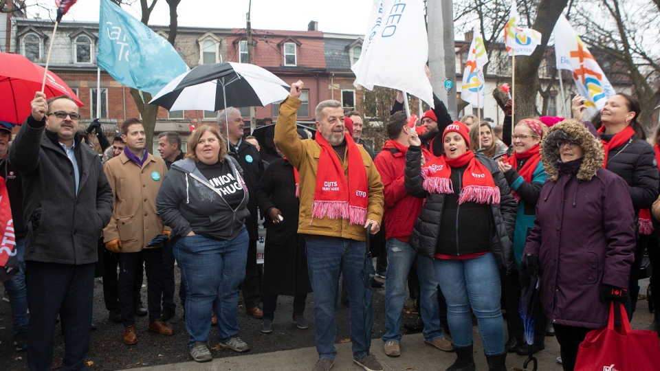 The Ontario Secondary School Teachers' Federation (OSSTF) said with little progress at bargaining table, teachers are prepared to ramp up their job action next week – a move that will lead to school closures for a day.