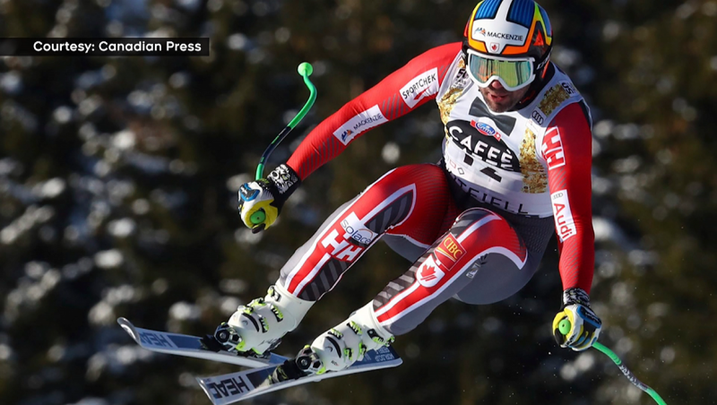 Skier Manny Osborne-Paradis tries to make a comeback from a serious leg injury