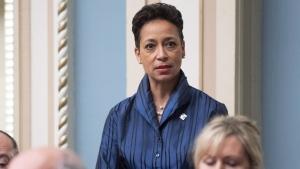 Quebec's minister of international relations Nadine Girault.