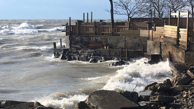 Flood watch issued for Lake Erie shoreline