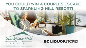 You could win a couples retreat package!