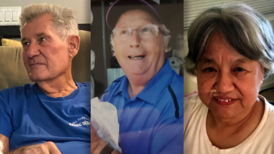Missing seniors in Metro Vancouver