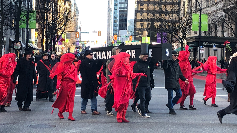 Black Friday climate march