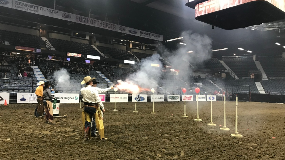 Agribition shooting