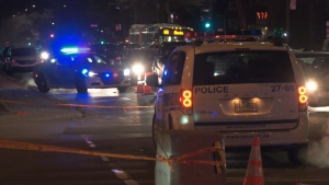 Montreal police are investigating after a woman was hit by an SUV and was rushed to the hospital in critical condition.