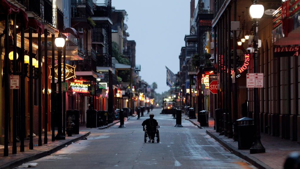 At least ten people shot in the New Orleans French Quarter