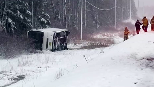 Bus Crash in Cape Breton