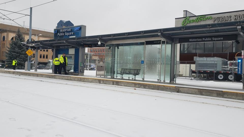 LRT freezing rain