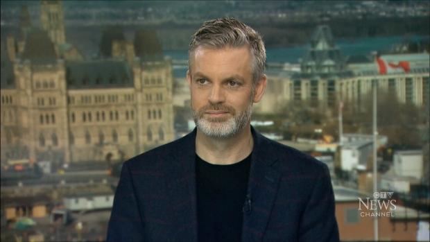 Former Stephen Harper communications director Kory Teneycke speaks on CTV's Question Period.